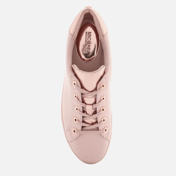 d7c9d50ae9ec MICHAEL MICHAEL KORS Women s Irving Leather Low Top Trainers - Soft Pink   Image 3