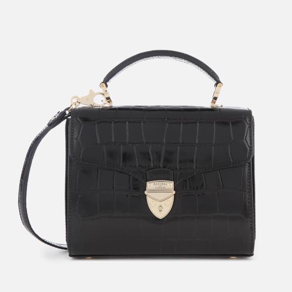 Aspinal of London Women's Mayfair Midi Tote Bag - Black