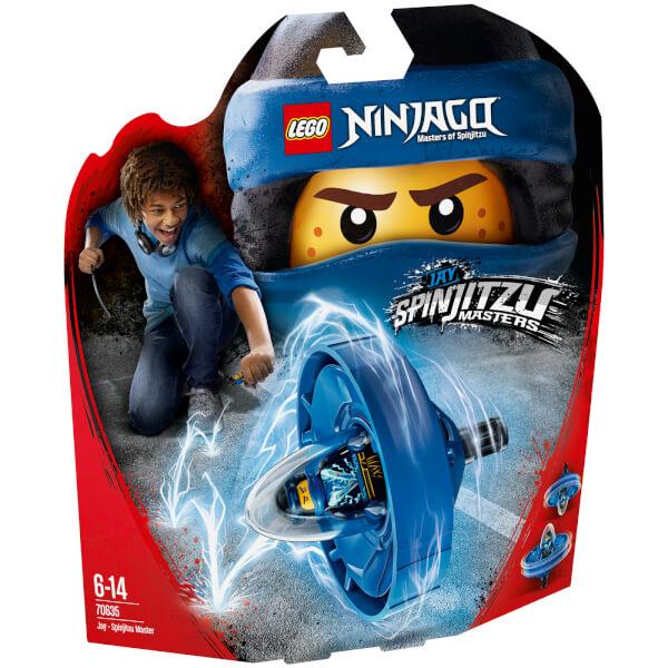 The LEGO Ninjago Movie: Jay - Spinjitzu Master (70635)