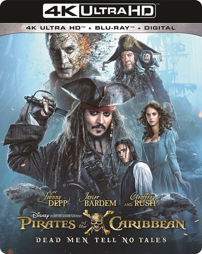 Pirates Of The Caribbean: Dead Men Tell No Tales - 4K Ultra HD
