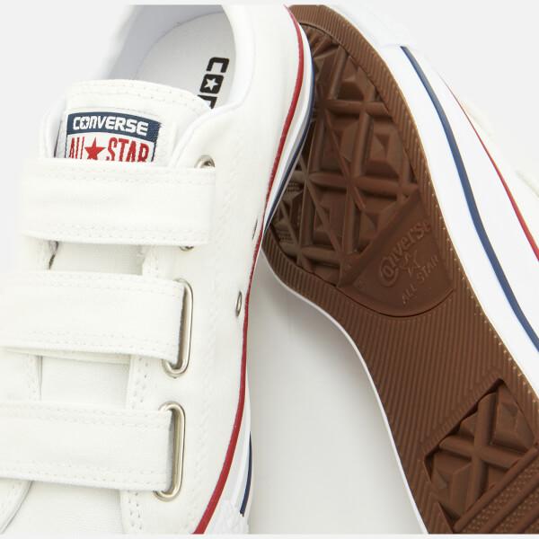 Converse Chuck Taylor All Star 3V Ox Trainers - White Insignia Blue Garnet  04c19b1404