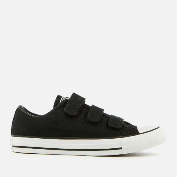 050b13235e74 Converse Chuck Taylor All Star 3V Ox Trainers - Black White Mens ...