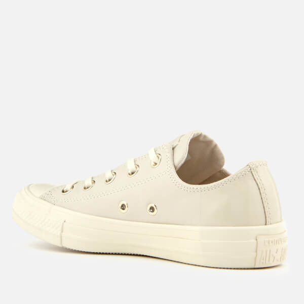 6dc0bea5d5340e Converse Women s Chuck Taylor All Star Ox Trainers - Egret Driftwood  Image  2
