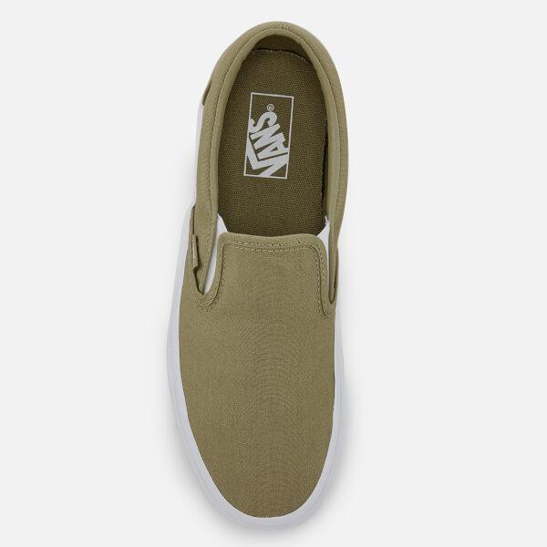 6876e149b0fc44 Vans Men s Classic Mono Canvas Slip-On Trainers - Boa  Image 3