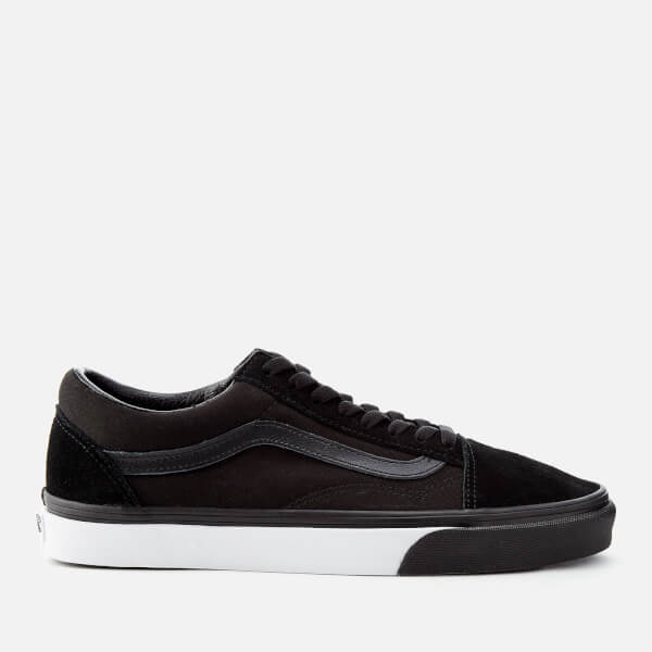 Vans Men's Mono Bumper Old Skool Trainers - Black/True White