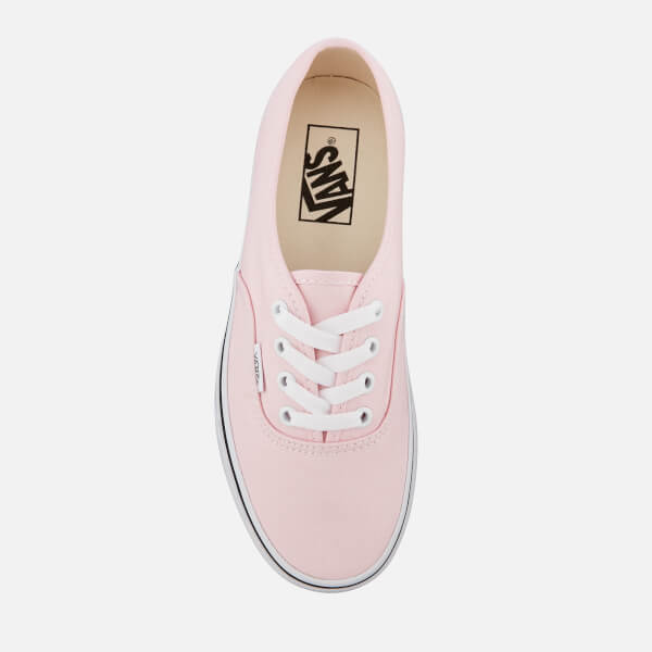 27b7eac6ef Vans Women s Authentic Trainers - Chalk Pink True White  Image 3