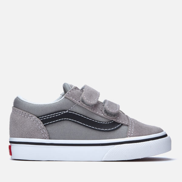 e556252e57 Vans Toddlers  Old Skool Trainers - Drizzle Black  Image 1