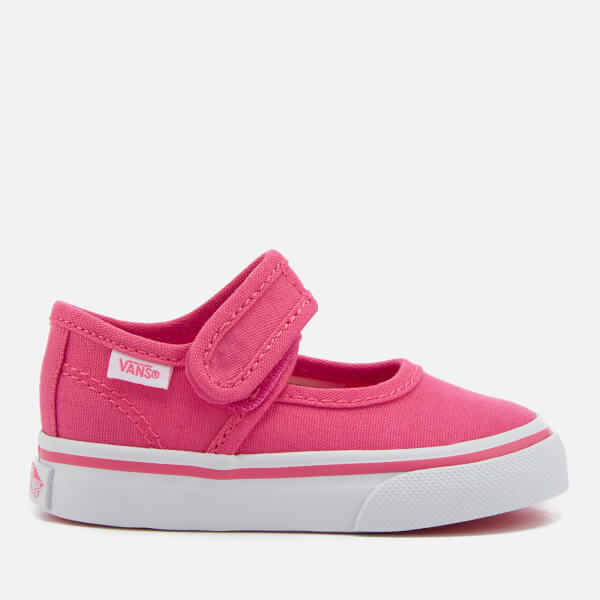 Vans Toddlers' Mary Jane Flats - Hot Pink/True White