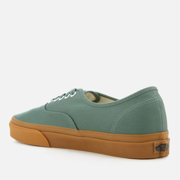 aa4f8767488 Vans Men s Authentic Trainers - Duck Green Gum  Image 2