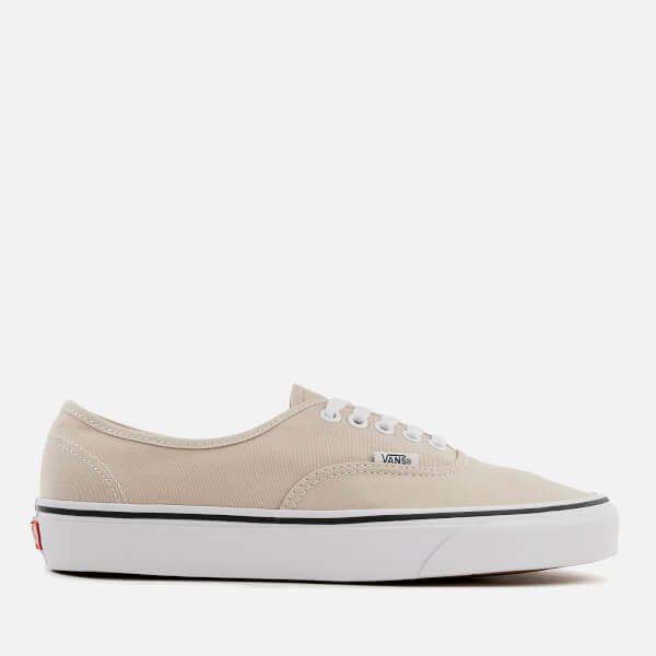 Vans Men's Authentic Trainers - Silver Lining/True White