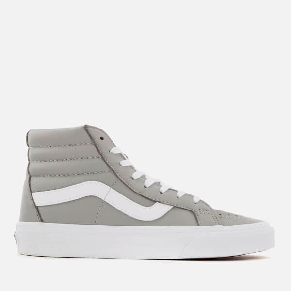 284072090e6a Vans Women s Leather Sk8 Hi-Top Trainers - Oxford Drizzle Womens ...