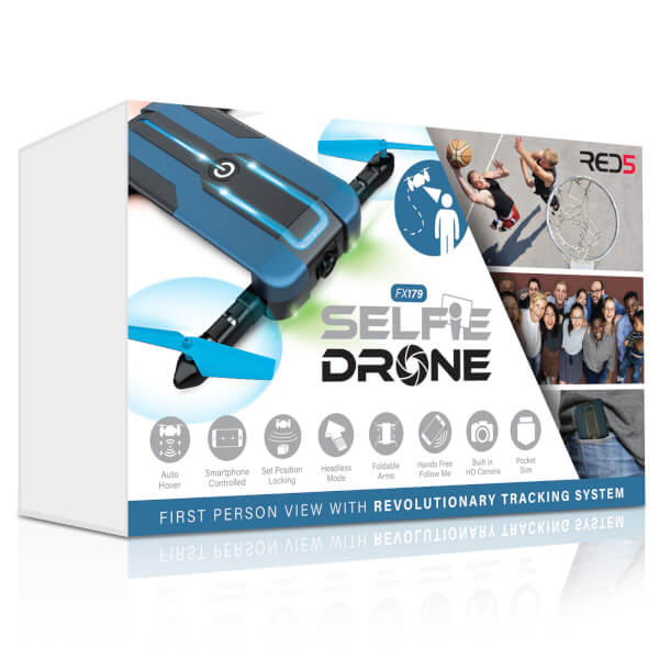 RED5 Selfie Drone - Blue