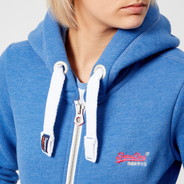 Superdry Women's Orange Label Primary Zip Hoody - Boardwalk Marl - UK 10 Sale Low Price Cheap Sale Websites Cheap Sale Browse Cheap Price Factory Outlet Clearance Cheap xTESqOoUpI