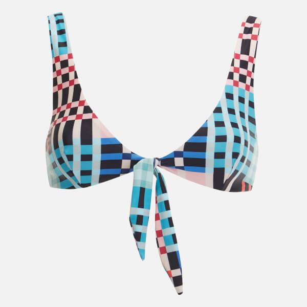 MINKPINK Women's Penelope Tie Front Bikini Top - Multi