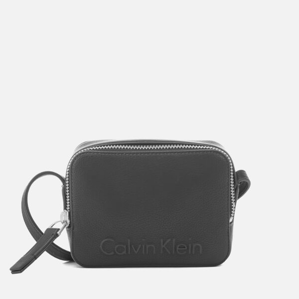 Calvin Klein Women's Edge Small Cross Body Bag - Black