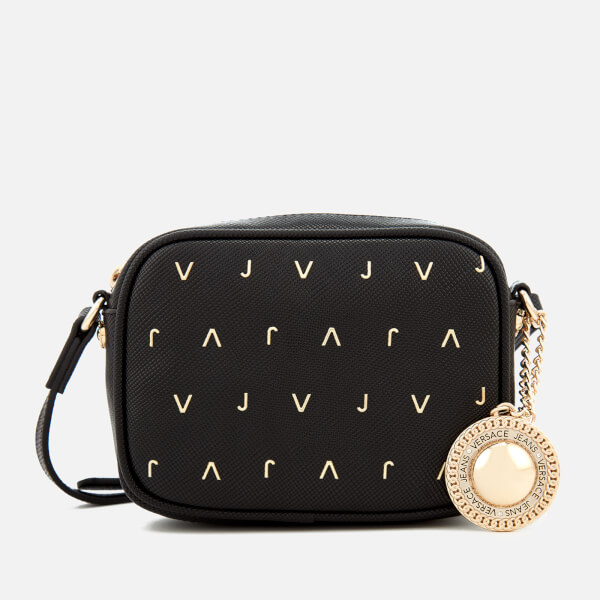 Versace Jeans Women s Embellished Camera Bag - Black Womens ... ba68aa13faad1