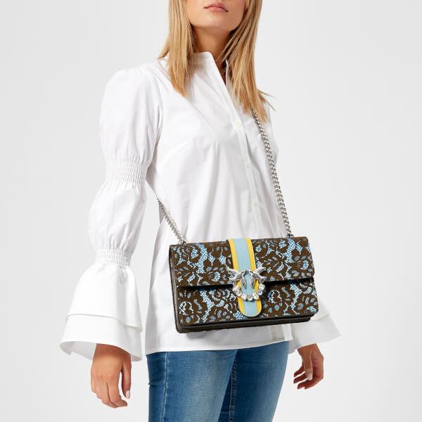 ada665cef7e Pinko Women's Love Lace Cross Body Bag - Multi: Image 3