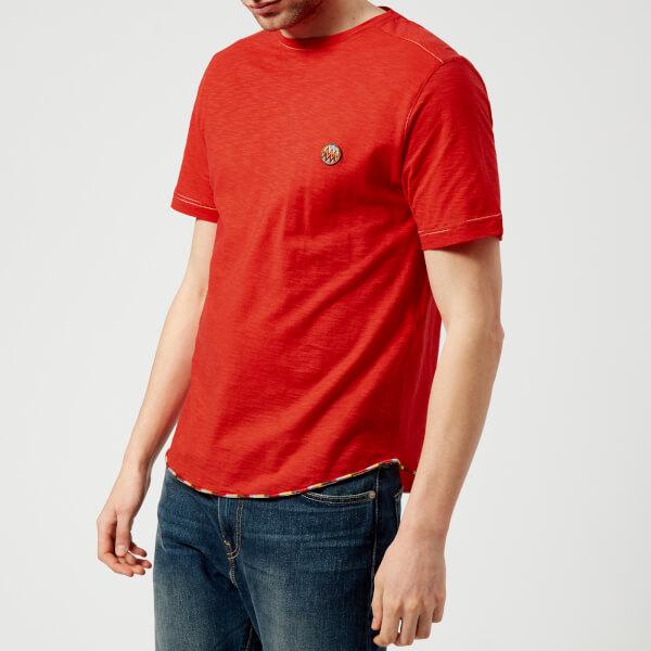 Missoni Men's Small Logo T-Shirt - Red