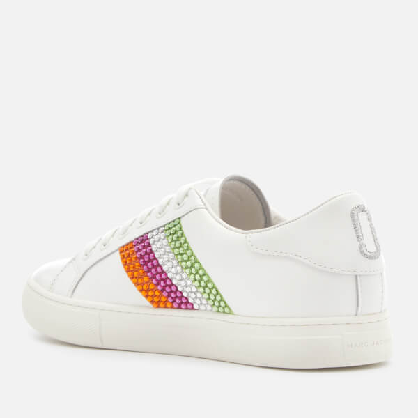 Marc Jacobs Women's Empire Strass Low Top Sneakers - /Multi - EU 39/UK 6 toIYpb3f