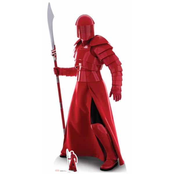 Star Wars: The Last Jedi Praetorian Guard Naginata Over-Sized Cut Out