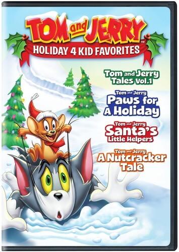 Tom & Jerry Holiday 4 Kid Favorites