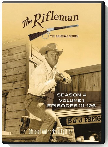 Rifleman: Season 4 - Vol 1 - Episodes 111 - 126