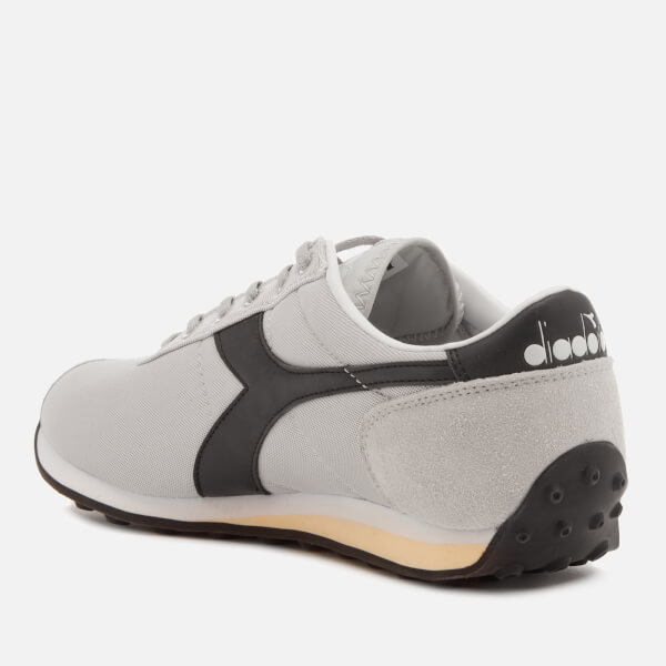 Diadora Men's Sirio Trainers - White Sand/Black - UK 9 RIXoMCD