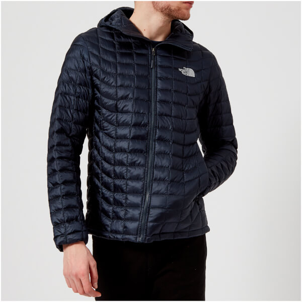 the north face men 39 s thermoball hoodie jacket urban navy. Black Bedroom Furniture Sets. Home Design Ideas