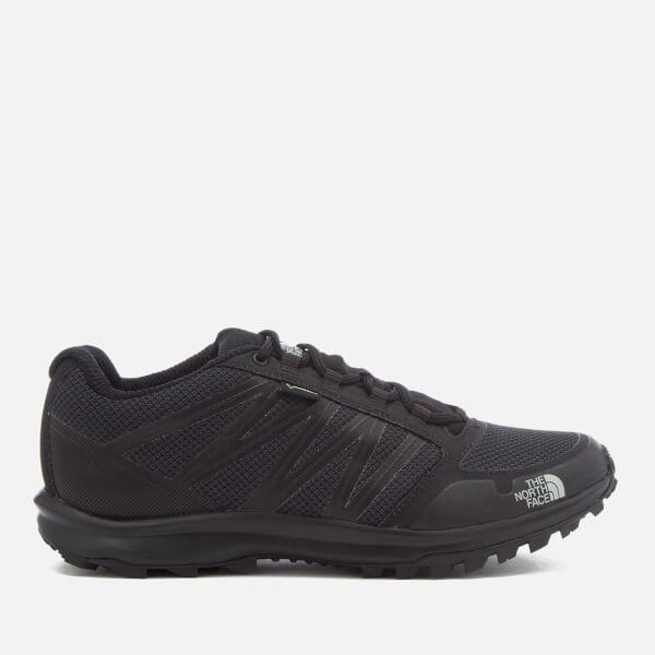 2cb6c66b4d467 The North Face Men s Litewave Fastpack GTX Hiking Shoes - TNF Black High  Rise Grey
