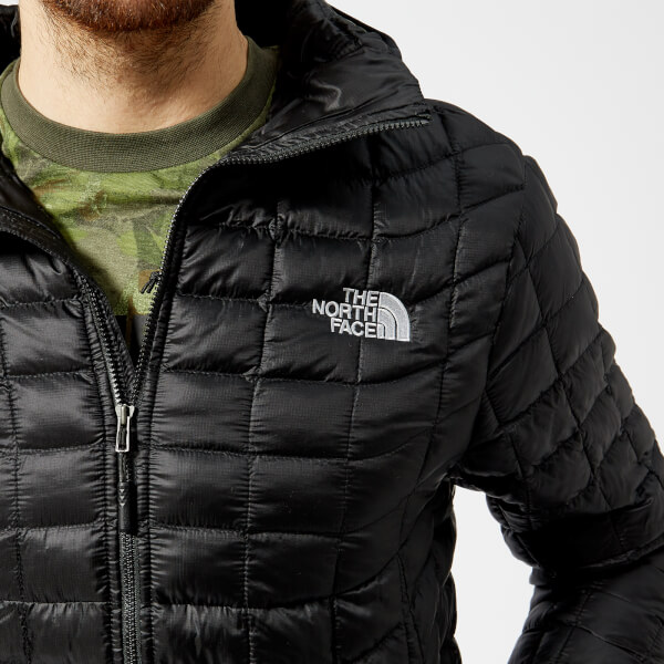 The North Face Men s Thermoball Hoodie Jacket - TNF Black Clothing ... 5730b0299
