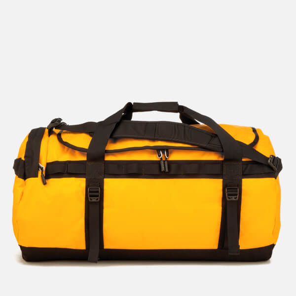 The North Face Basecamp Duffel Bag - Large - Summit Gold TNF Black  Image dd04a6d8281fb