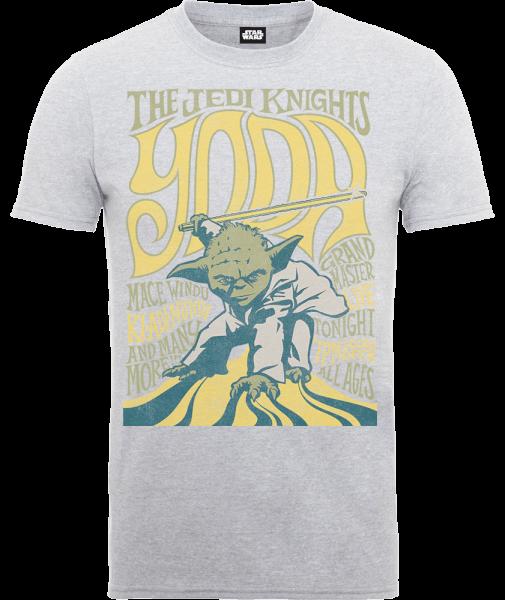 Star Wars Yoda The Jedi Knights T-Shirt - Grey