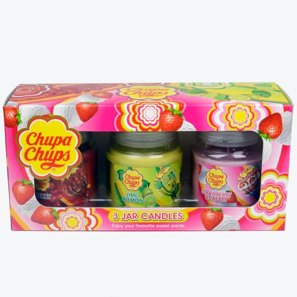Chupa Chups Three Candle Gift Pack