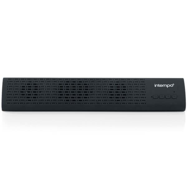 Intempo Mini Bluetooth Soundbar Speaker - Black