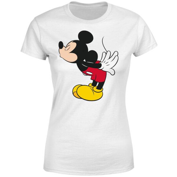 Disney Mickey Mouse Mickey Split Kiss Women's T-Shirt - White