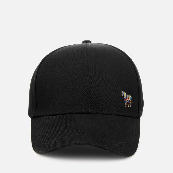 Paul Smith Accessories Men's Zebra Logo Cap - Black