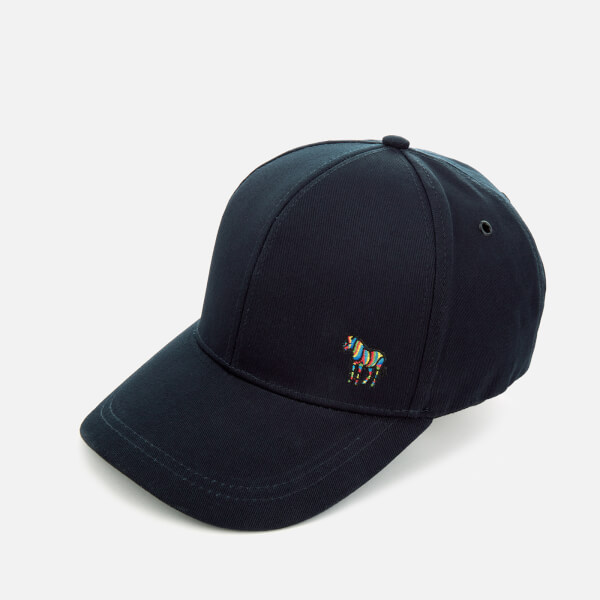 3139c8d291a Paul Smith Accessories Men s Zebra Logo Cap - Blue  Image 2