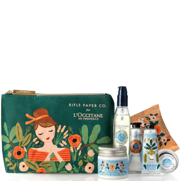 L'Occitane Rifle Paper Co. and Shea Butter Discovery Kit (Worth $40)
