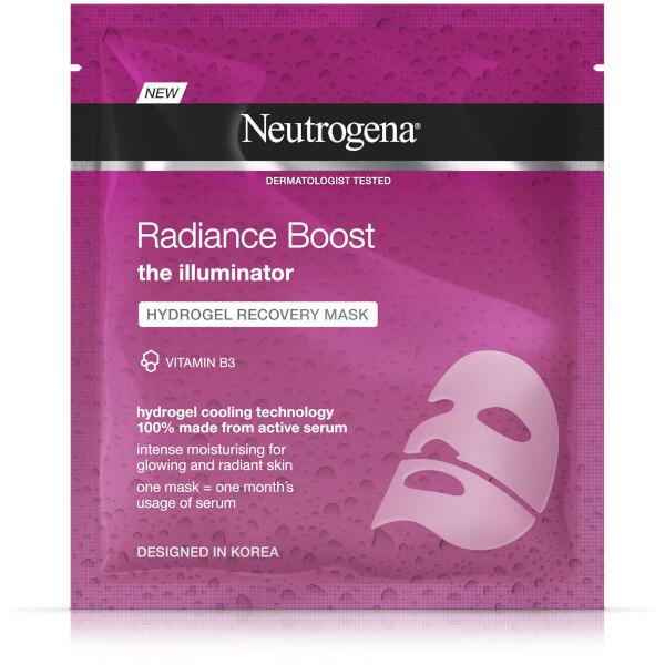Neutrogena Radiance Boost Hydrogel Recovery Mask 30ml