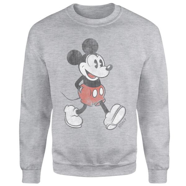 Disney Mickey Mouse Walking Sweatshirt - Grey