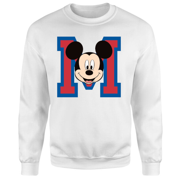 Disney Mickey Mouse M Trui - Wit