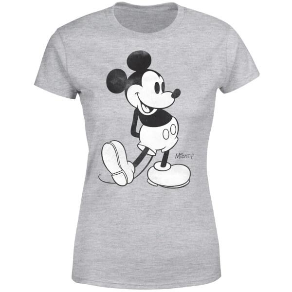 Disney Mickey Mouse Women's T-Shirt - Grey