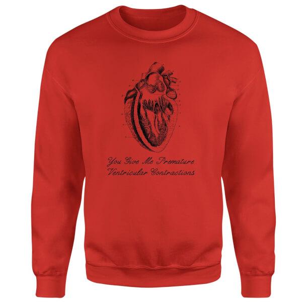Premature Ventricular Contractions Sweatshirt - Red