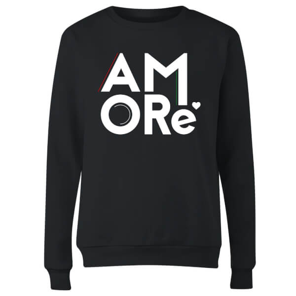 Amore Women's Sweatshirt - Black