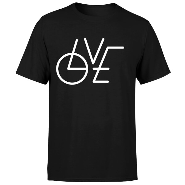 LOVE Modern T-Shirt - Black