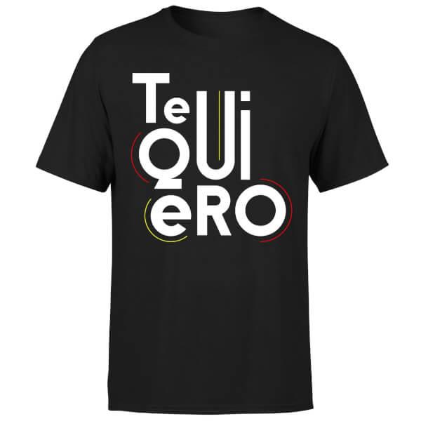 Te Quiero T-Shirt - Black
