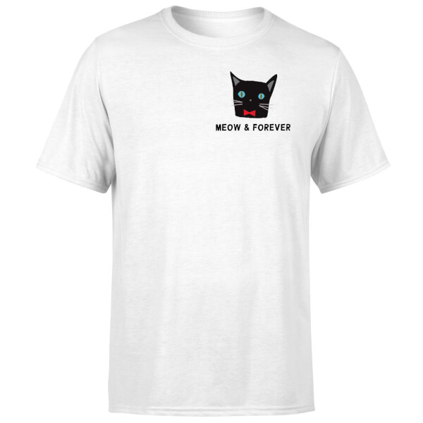 Meow & Forever T-Shirt - White
