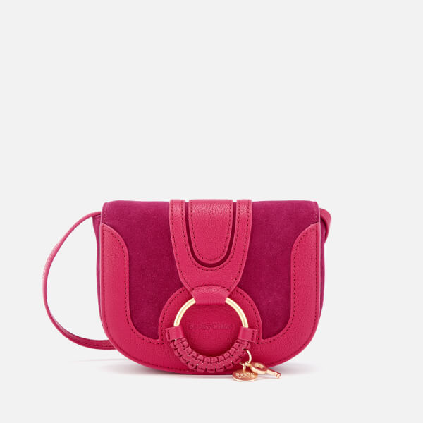 See By Chloe Women's Hana Small Cross Body Bag - Berry Pink