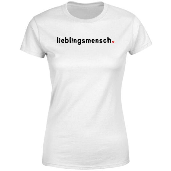 Lieblingsmensch Women's T-Shirt - White