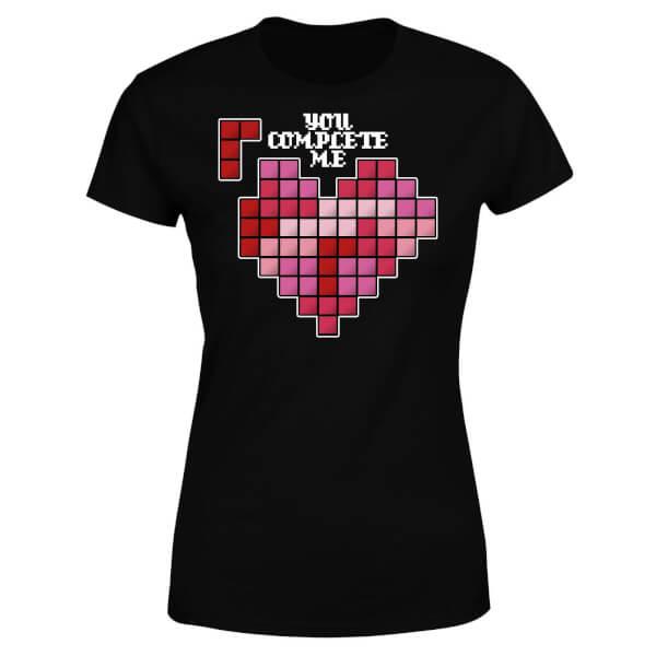 You Complete Me Women's T-Shirt - Black